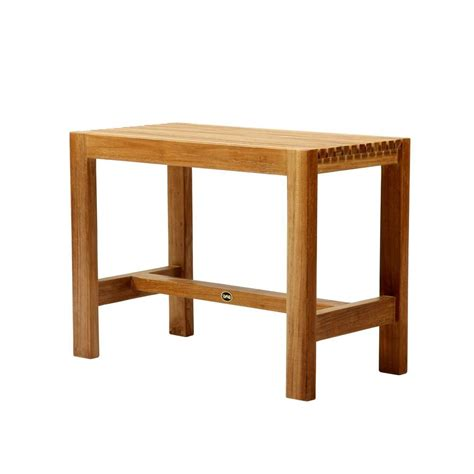 bath benches arb teak specialties 24 in w fiji bathroom shower bench