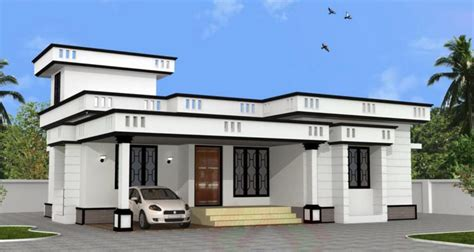 normal house plans normal house with two bedrooms and 62 square meters kerala home design