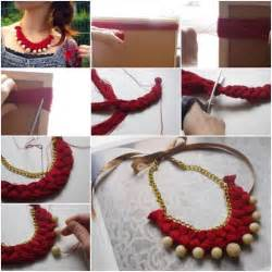Diy tutorials step by step necklace shouwz com