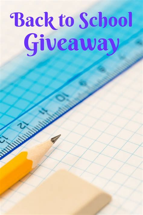 Shopping Giveaway - back to school shopping giveaway cookwith5kids