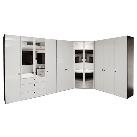 Wardrobe B by Glossy Lacquer 427x377x58x236cm Furdes Interior