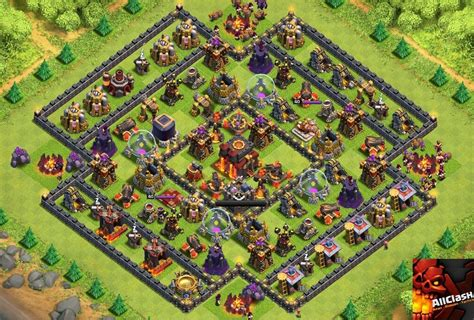 th10 trophy base town hall 10 trophy pushwar base anti golem anti defensive war base for th10 newhairstylesformen2014 com