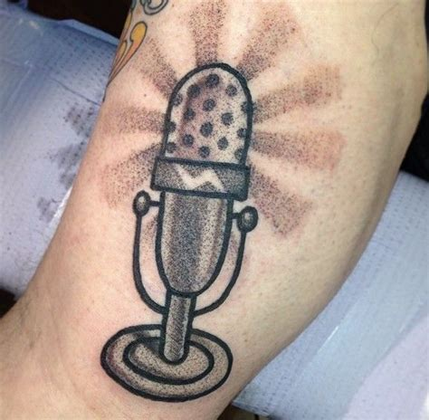 small microphone tattoo designs microphone tattoos designs ideas and meaning tattoos