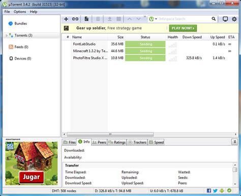 tutorial utorrent c 243 mo usar utorrent rocky bytes