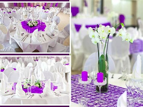 Ideen Deko Hochzeit by Tischdeko Hochzeit Runde Tische Elegante Hotel