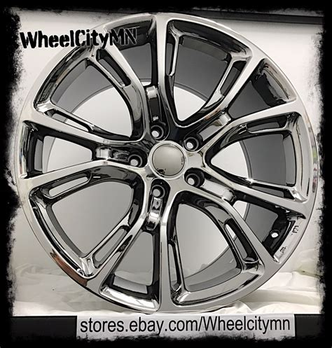 Jeep Grand 20 Inch Wheels 20 Inch Black Chrome Pvd 2013 2014 2015 Jeep Grand