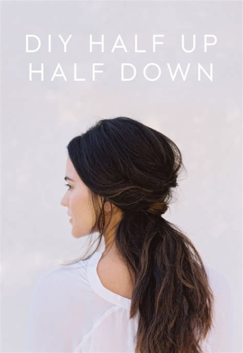 24 chic half up half down bridesmaid hairstyles chic and messy diy half up half down wedding hairstyle