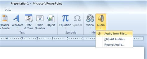 format audio for powerpoint 3 ways to insert audio in powerpoint presentations