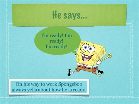 spongebob powerpoint template spongebob project