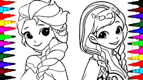 coloring page of elsa and anna elsa anna coloring go digital with us 10032f20363a