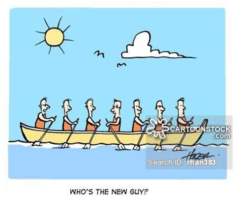 cartoon rowing boat management rowing team cartoons and comics funny pictures from