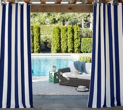black outdoor curtains pool landscape progress setting up greenery life on
