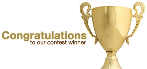 Congratulations To The Winners Of Our For Fashion Giveaway by Congratulations To The Abt Contest Winner The Bolt