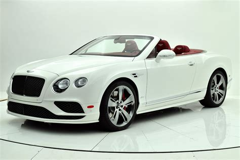 2017 white bentley convertible new 2017 bentley continental gt speed convertible for sale