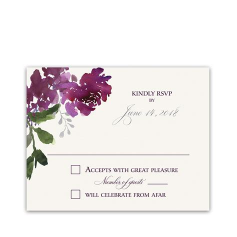 Sle Wedding Reception Rsvp Cards