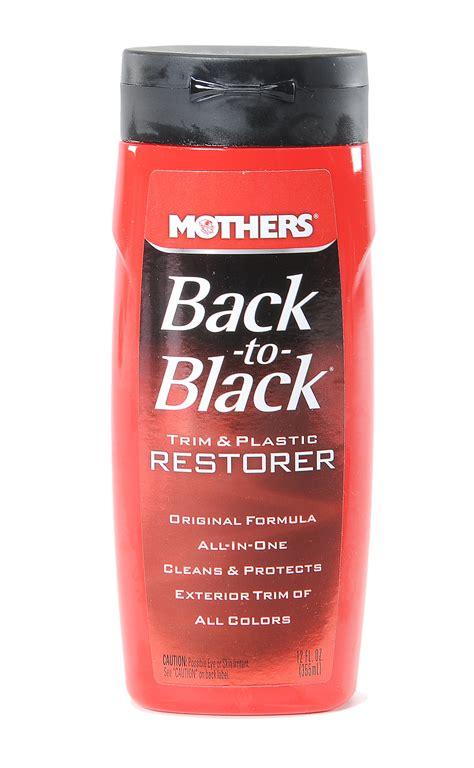Trim Restorer Back To Black Original mothers 174 06112 back to black 174 trim and plastic restorer