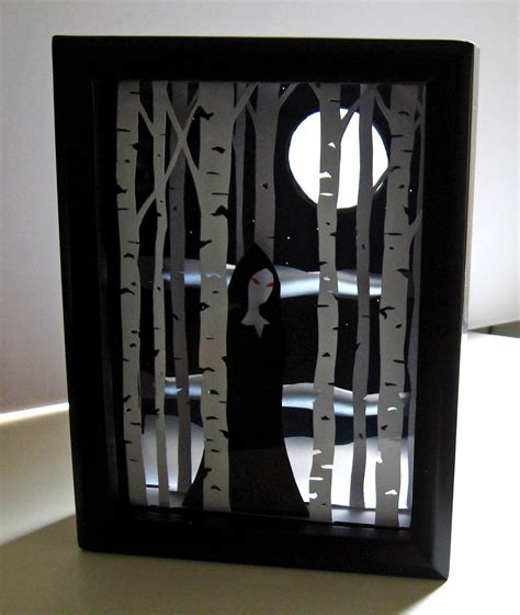 How To Make A Paper Shadow Box - hudson valley etsy new york diy tutorial shadow box