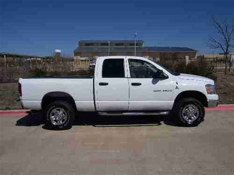 automobile air conditioning repair 2006 dodge ram 1500 navigation system sell used 2006 dodge ram 2500 slt crew cab pickup 4 door 5 9l in plano texas united states