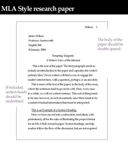 heading for research paper how to write an mla heading for essays correctly the pen