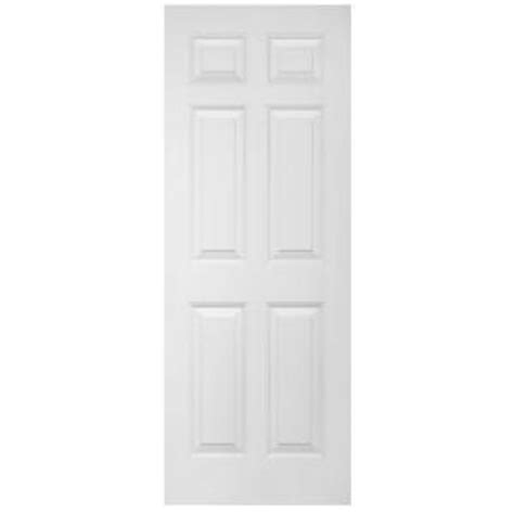 Home Depot 6 Panel Interior Door Steves Sons Ultra 6 Panel Smooth Primed White Solid Composite Interior Door Slab