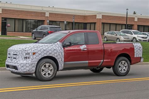 Nissan Titan 2020 by 2020 Nissan Titan Spied Inside And Out Autoevolution