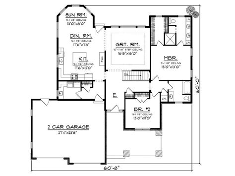 empty nester floor plans empty nester home plans empty nester house plan ideal