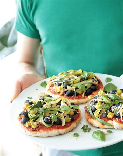 Pizza Evi by Simple Vegan Pita Pizzas Green Evi