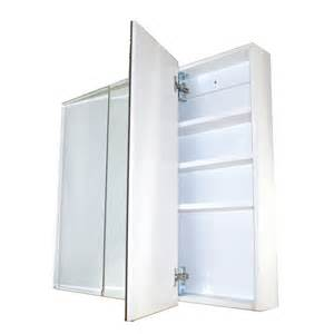 pharmacie 3 portes miroir 36 x 29 quot rona