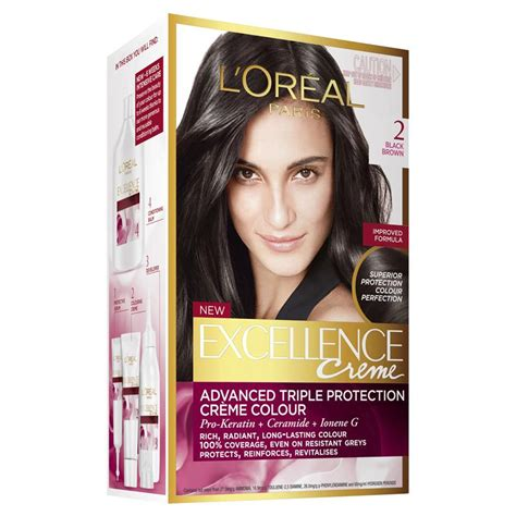 L Oreal Excellence Creme buy l oreal excellence creme 2 black brown at