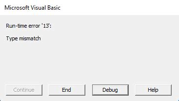 excel vba error trapping and handling – blue pecan