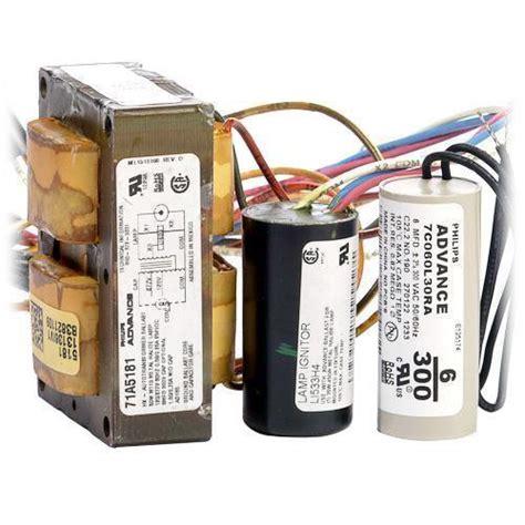 ballast capacitor ignitor wiring advance 71a5181 001d metal halide ballast pulse start 50 watt 120 277v energy avenue
