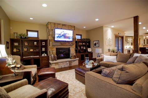 fireplace designs with tv above for family