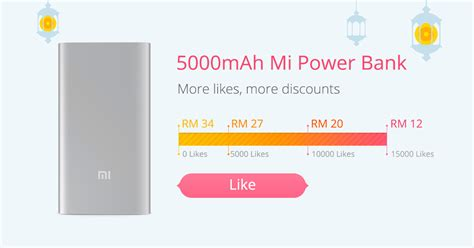 Power Bank Mi 5000mah mi power bank 5000mah mi malaysia