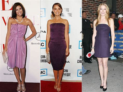 Trend Of The Week Purple Strapless Dresses trend of the week purple strapless dresses style news
