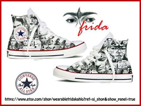 Firda Syar I frida kahlo unique original design converse by