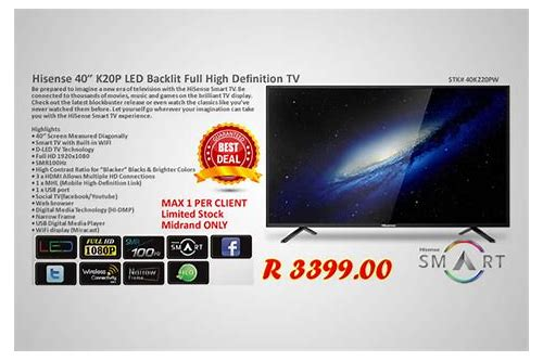 black friday tv deals south africa