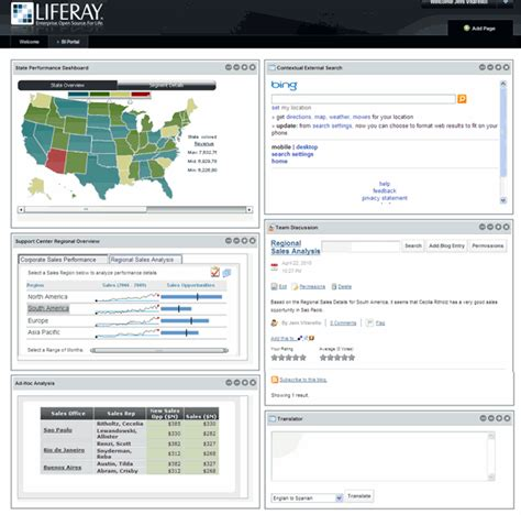 liferay layout template download building a liferay portal with microstrategy portlets