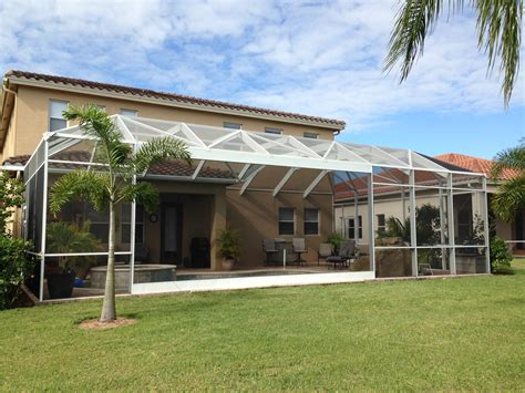 fort myers extra large awning project haggetts aluminum screen enclosure custom picture window cape coraltopla inc