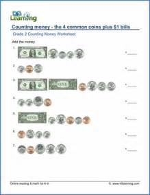 grade 2 counting money worksheets free amp printable k5