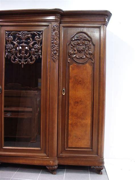 bücherschrank kaufen antiker altdeutscher b 252 cherschrank barocke manier restauriert