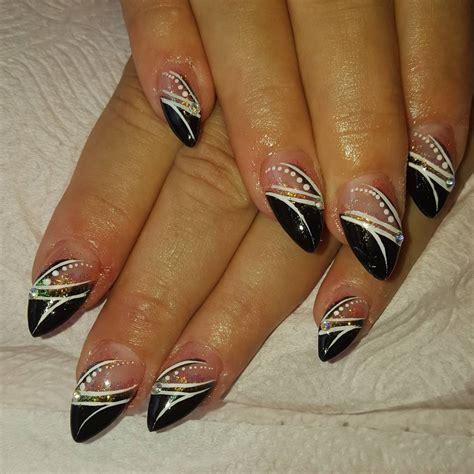 black summer nail designs ideas design trends