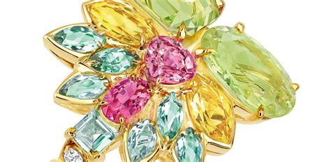 pop it jewelry christian brings a pop of color to new high jewelry