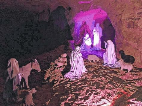 minford ohio christmas cave thousands entered the cave community common