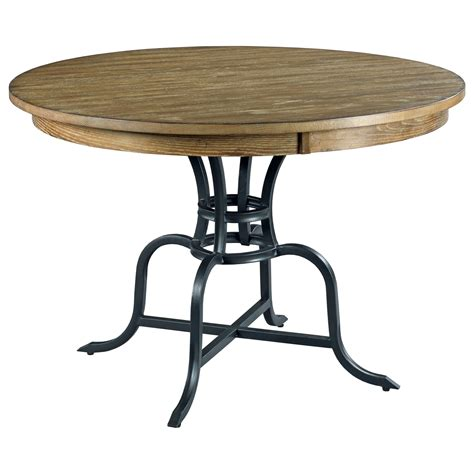 rustic wood metal dining table 44 quot solid wood dining table with rustic metal base