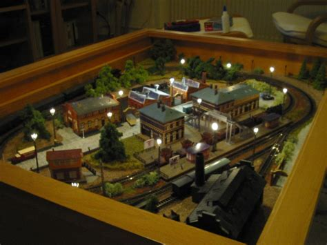 A Train In Your Coffee Table Diy Hack Pinterest Coffee Table Model Railroad