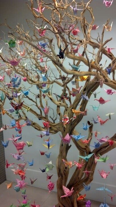 Origami Crane Tree - 17 best images about origami on