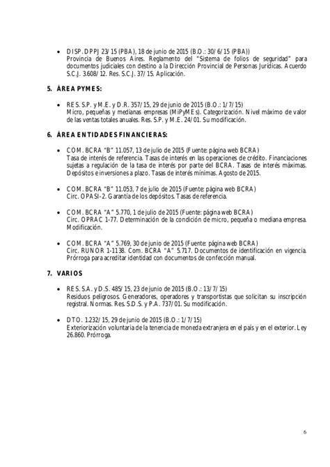 escala salarial del conv colect de trab 56809 rama heladeros legipyme normas emitidas del 01 07 al 15 07