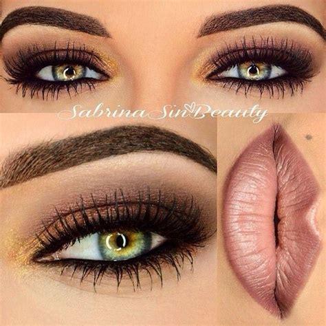 imagenes ojos verdes maquillados fotos de moda maquillaje suaves para ojos con sombra