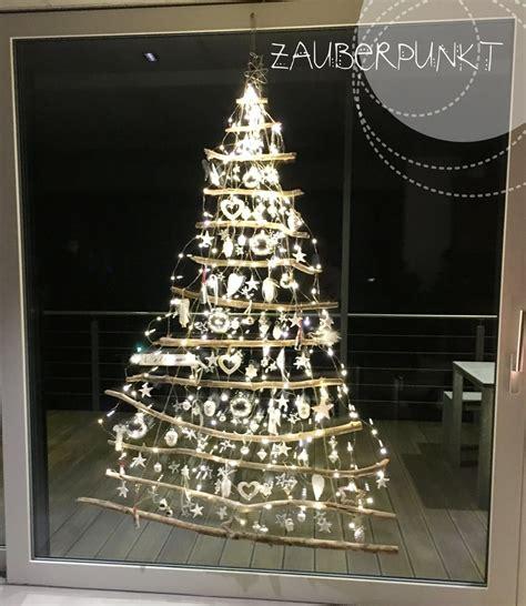 weihnachtsdekoration ideen 3493 weihnachtsbaum am fenster weihnachten