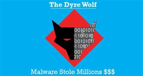 vr bank dgf dyre wolf banking malware stole more than 1 million